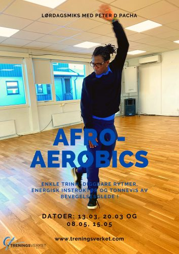 Afro-Aerobics med Peter